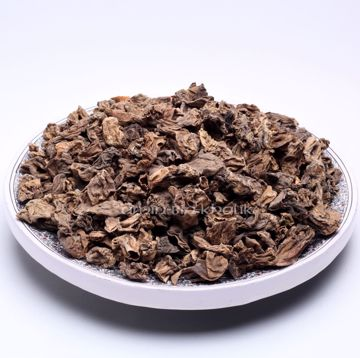 Picture of Dried Morel tails ( ie. the part cut away from the cap)