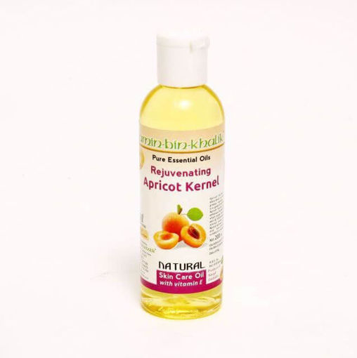 extracted pure apricot oil